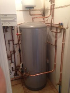 unvented hot water
